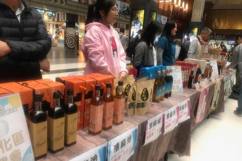 台灣的芝麻產量大約80%在台南。(圖/鄭夢華攝)