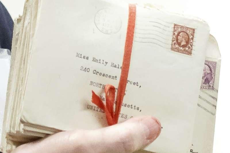 1956年,赫爾將手邊與艾略特往來的1131封書信捐給美國普林斯頓大學圖書館(美聯社)
