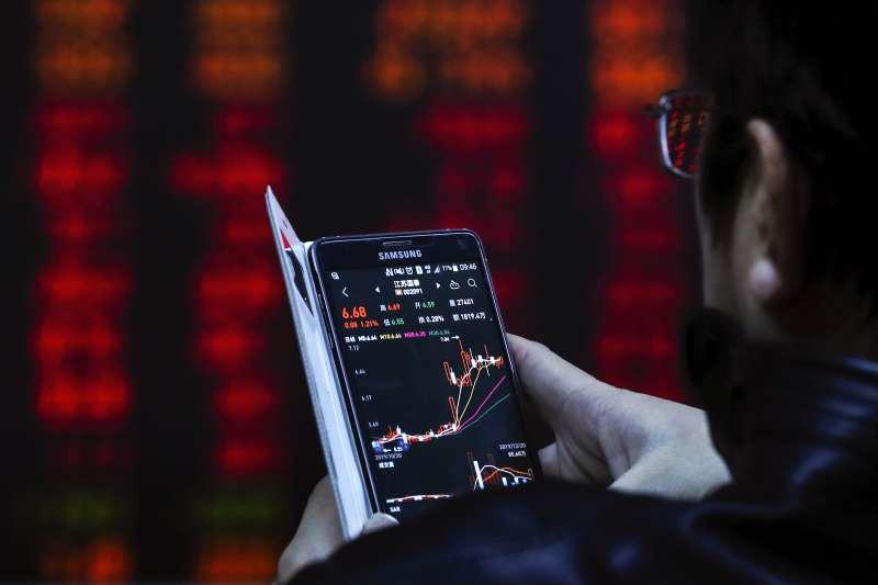 中國金融市場、股市(AP)