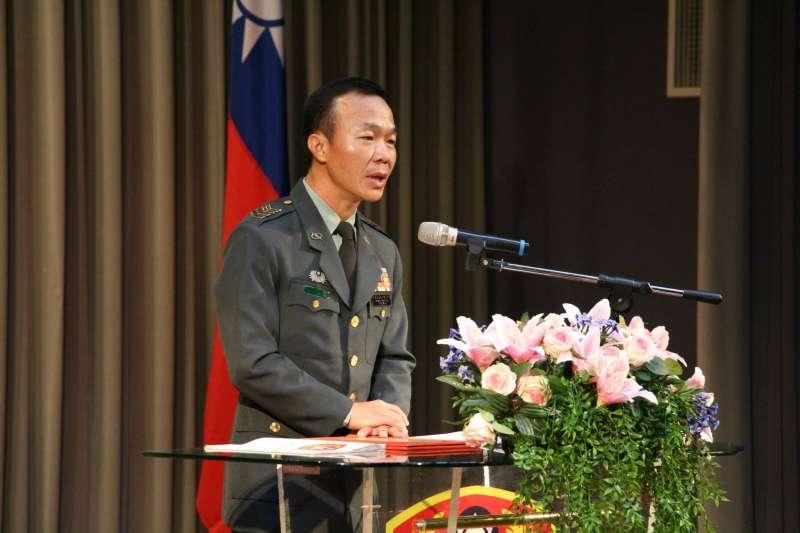 因黑鷹直升機失事殉職的國防部總士官長韓正宏。(取自國防部發言人臉書專頁)