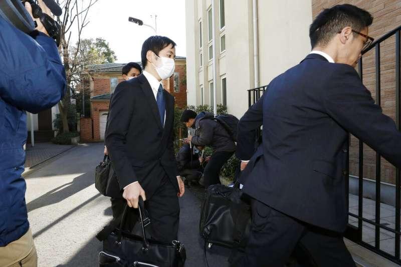 東京地檢署與警視廳3日到戈恩在日本的住處搜查。(美聯社)