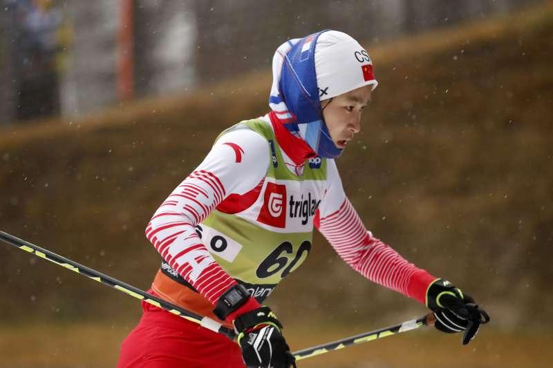 中國滑雪隊(AP)