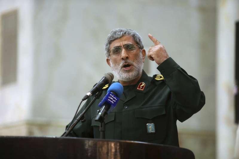伊朗伊斯蘭革命衛隊特種部隊「聖城軍」新任司令賈尼(Esmail Ghaani)(AP)