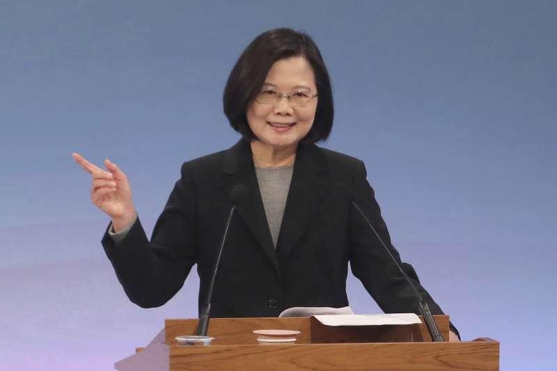 2020台灣總統大選:現任總統蔡英文有望連任(AP)