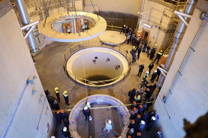 伊朗核協議:伊朗阿拉克重水反應爐廠(資料照,AP)