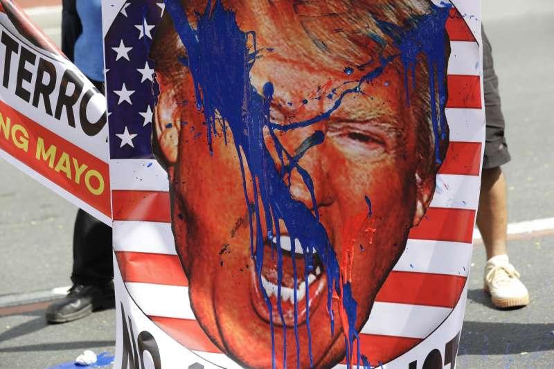 川普,近代最具爭議性的美國總統(AP)