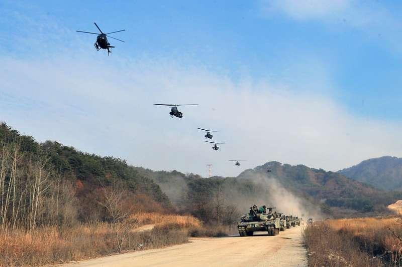 南韓陸軍。(韓軍flickr)