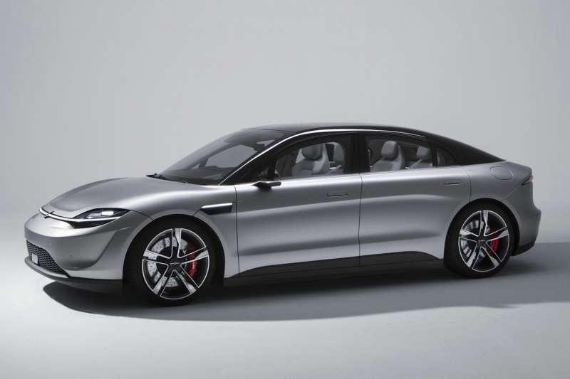 Sony推出的概念車Vision-S。