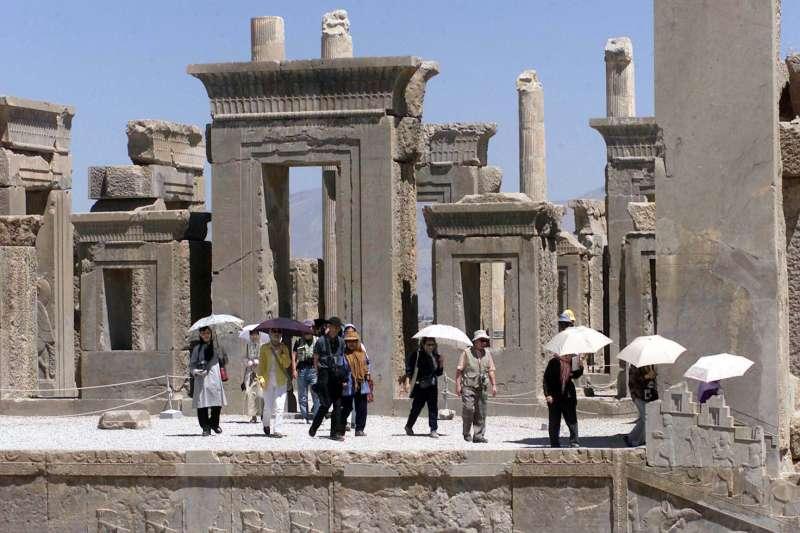 受到美國總統川普攻擊威脅的伊朗文化遺址,2500年歷史的古城波斯波利斯(Persepolis)(AP)