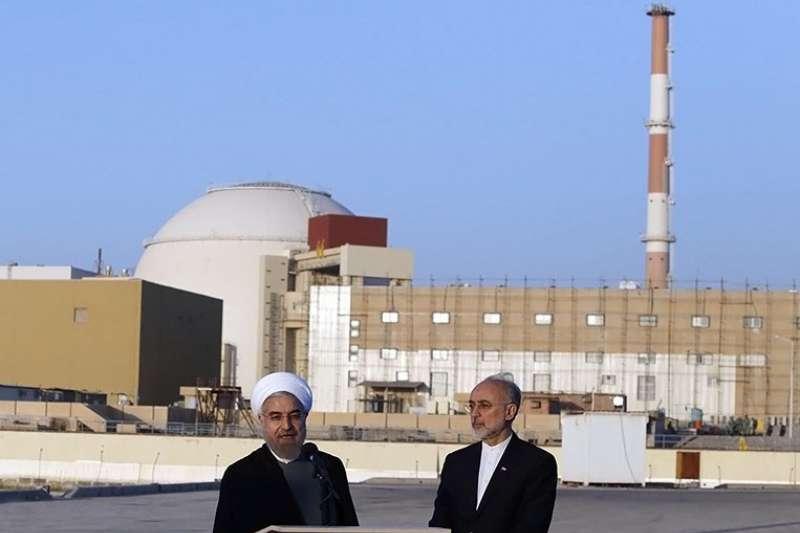 位於波斯灣沿岸的伊朗布什爾(Bushehr)核電廠附近今天發生規模4.9淺層地震。(Tasnim News Agency@wikipedia CC BY 4.0)