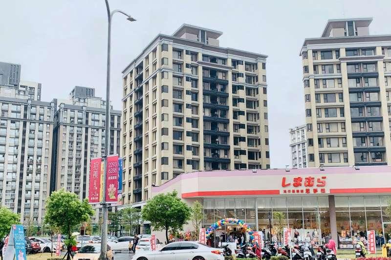 2019北台灣房市漲幅王在新北市五股區。(圖/取自洲子洋重劃區臉書)
