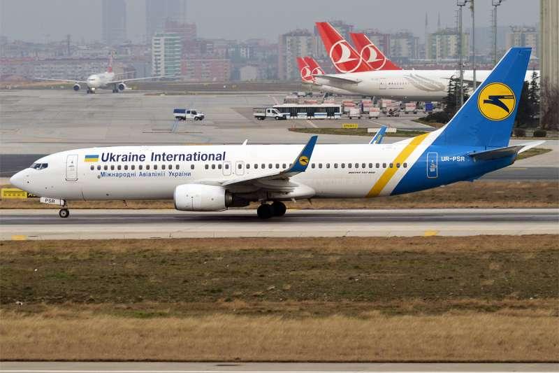 烏克蘭國際航空公司(Ukraine International Airlines)的波音737客機(Anna Zvereva@Wikipedia / CC BY-SA 2.0)