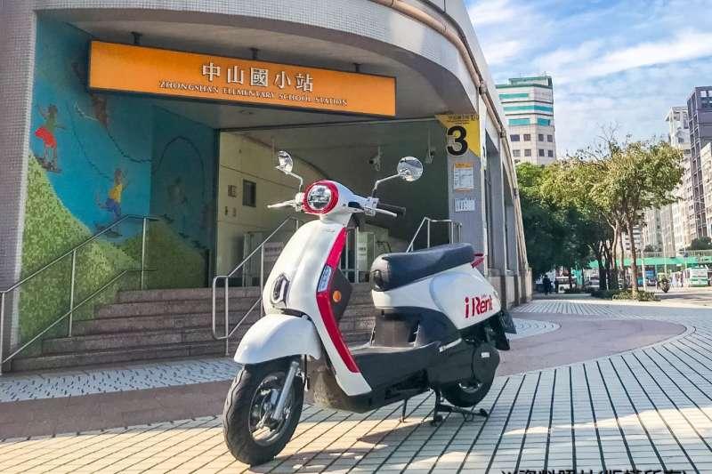 iRent共汽機車與悠遊卡公司合作,購買月票用戶贈送免費租車30分鐘 (圖/和雲行動服務)