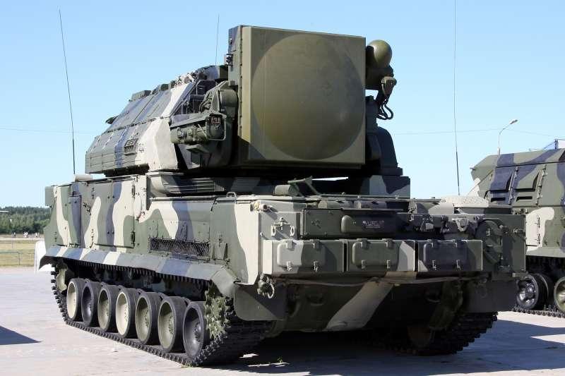 俄羅斯製「SA-15」地對空飛彈,又名「環面飛彈系統」(Tor missile system)(Vitaly V. Kuzmin@Wikipedia / CC BY-SA 4.0)