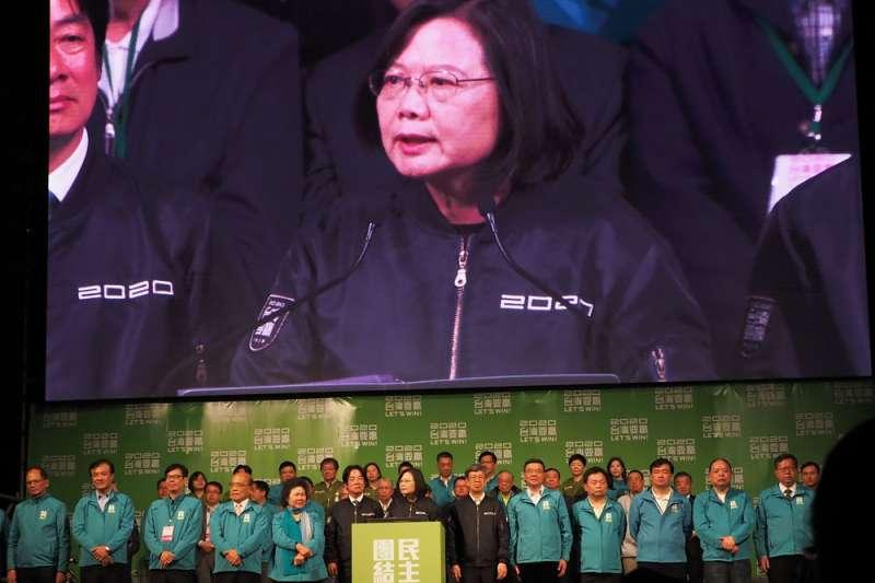 台灣在新冠肺炎當前的環境中滴水不漏的防守,說穿了就是防備大陸。看似成功,今後恐怕體質更脆弱,更容易在重新接觸後發生自恨、自戕的作為。圖為總統蔡英文。(資料照,林瑞慶攝)
