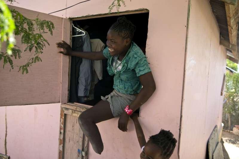 海地地震讓許多人失去四肢。(AP)