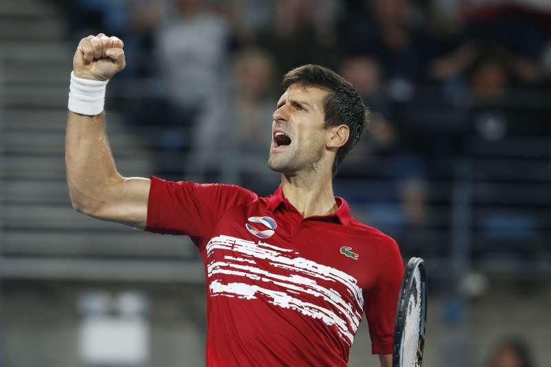 喬科維奇率領塞爾維亞奪下首屆ATP盃冠軍。(美聯社)