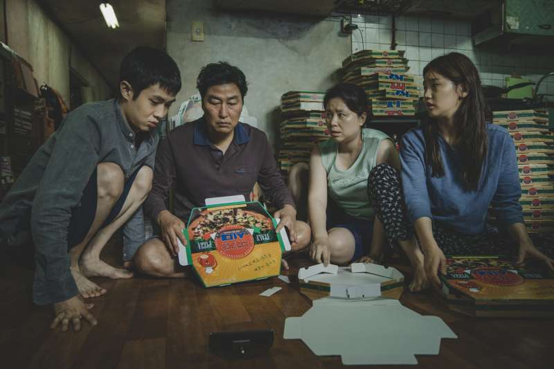 南韓《寄生上流》入圍奧斯卡最佳導演、最佳影片、最佳外語片等6大獎項,表現十分亮眼(美聯社)
