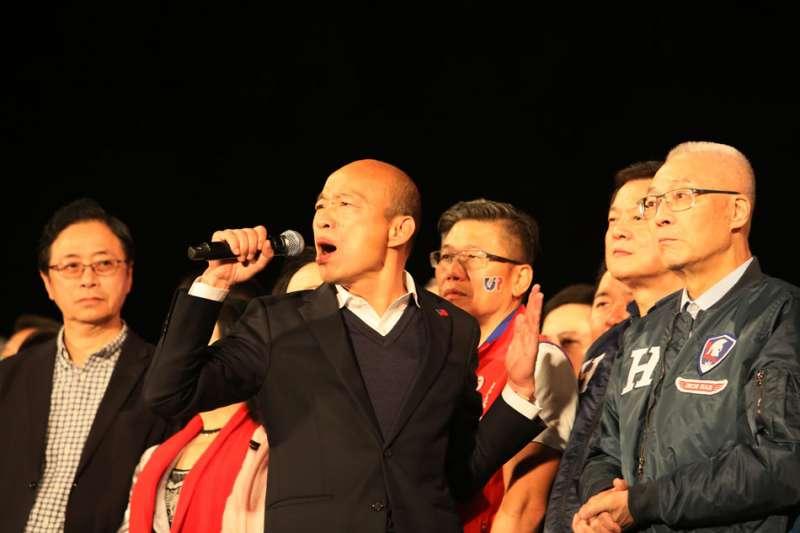 韓國瑜參選總統大敗,但圍繞著他的種種爭議仍未過去。(資料照片,柯承惠攝)