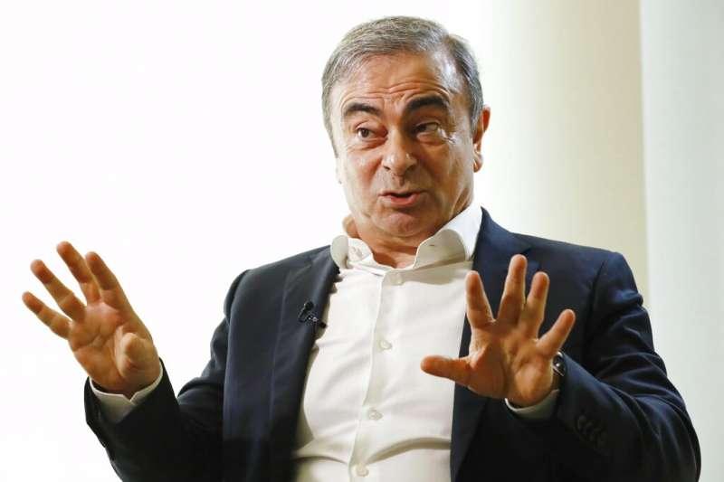 日產前董事長,逃往黎巴嫩藏匿的戈恩。(美聯社)