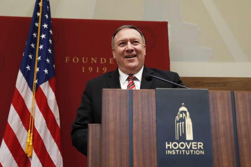 美國國務卿龐畢歐被視為下令擊斃伊朗「聖城軍」司令蘇萊曼尼的主導者。(AP)
