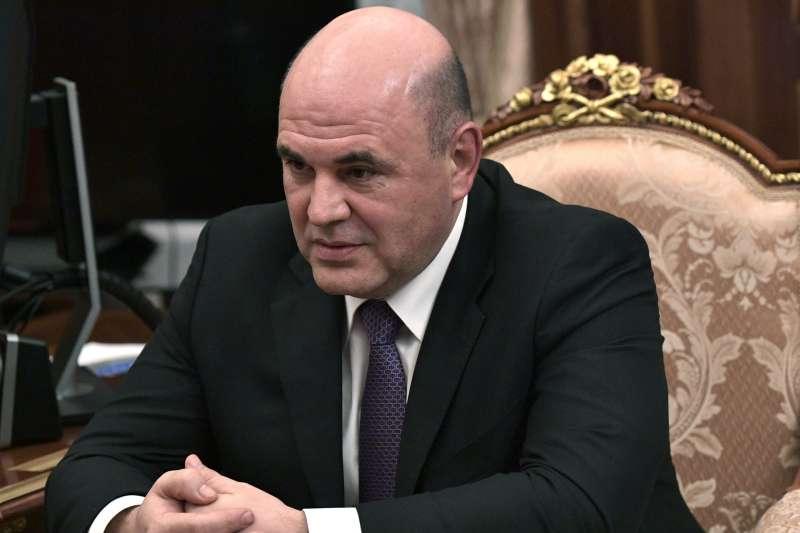 2020年1月15日,俄羅斯新任總理米修斯廷(Mikhail Mishustin)(AP)