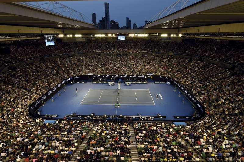 澳洲野火持續延燒,澳網官方卻沒有打算要讓比賽延期。(美聯社)