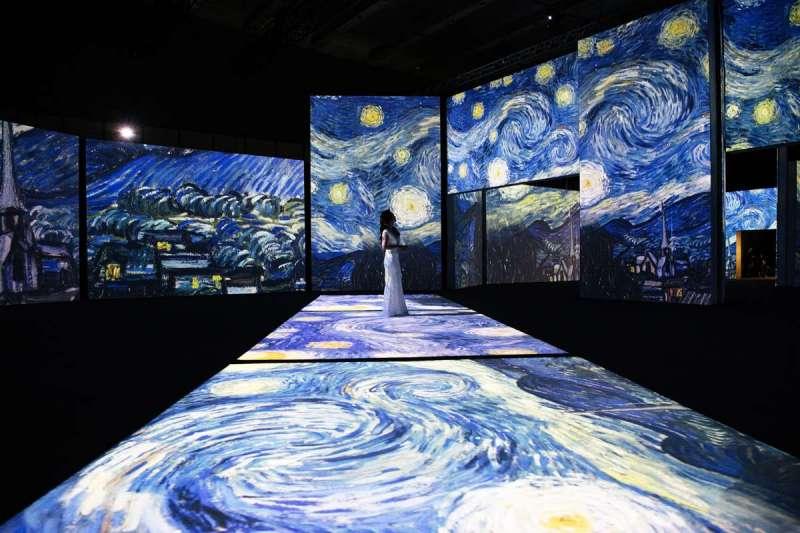 巡迴全球超過50個城市的「再見梵谷—光影體驗展」今年終於巡迴到台北(圖/再見梵谷-光影體驗展facebook)