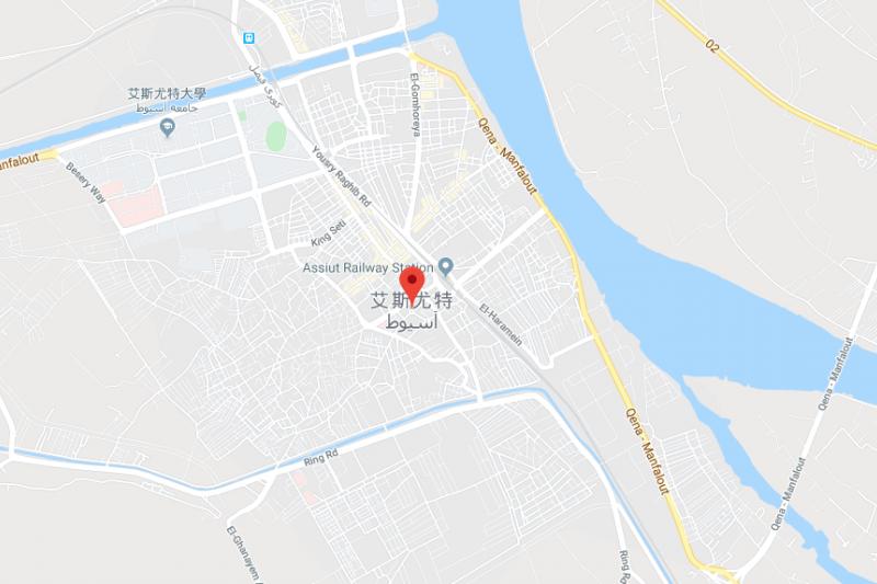 艾斯尤特。(截自google地圖)