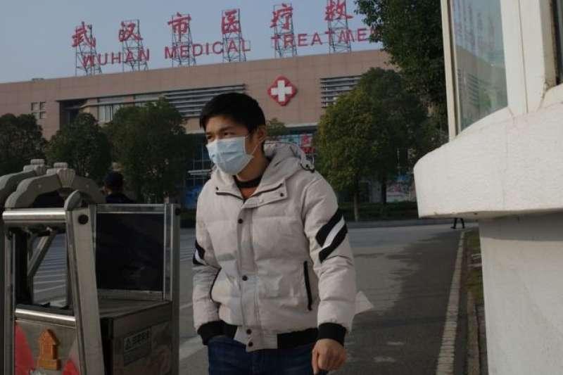 到目前為止,中國報告了41例此類肺炎感染者病例。(BBC中文網/Getty Images)