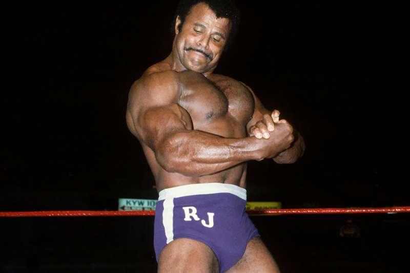 洛基強森人稱「Soul Man」是WWE名人堂一員。(AP)