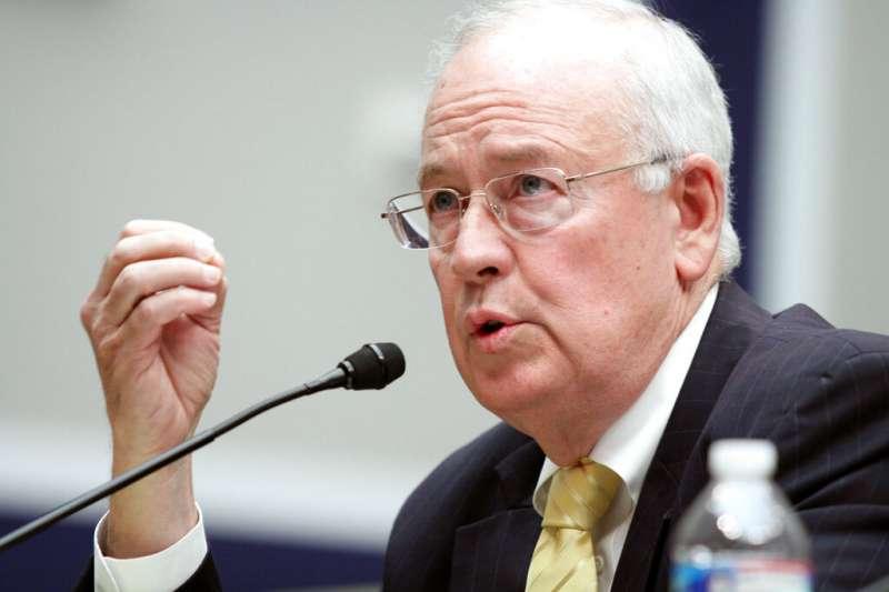 柯林頓醜聞的獨立檢察官史達。(AP)