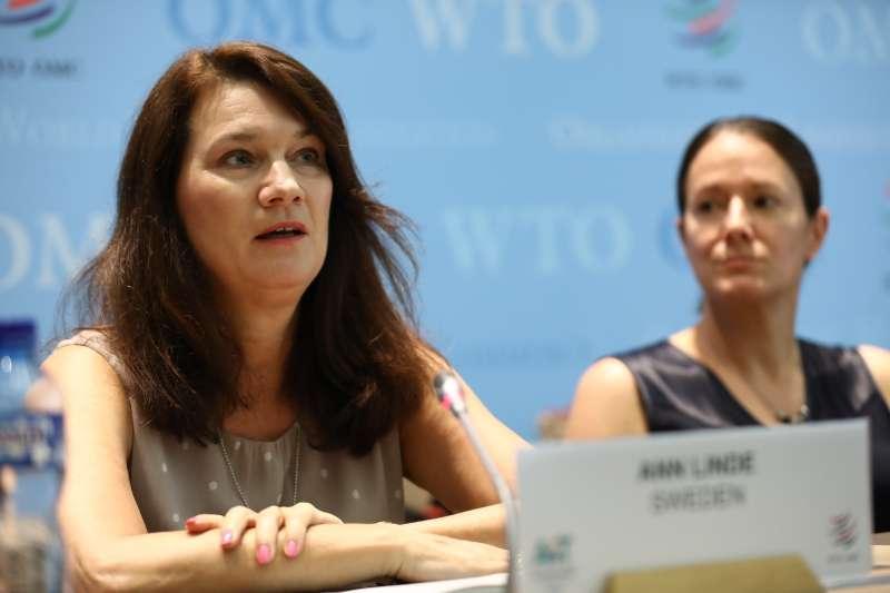 瑞典外交部長林德(Ann Linde)(World Trade Organization@Flickr/CC BY-SA 2.0)