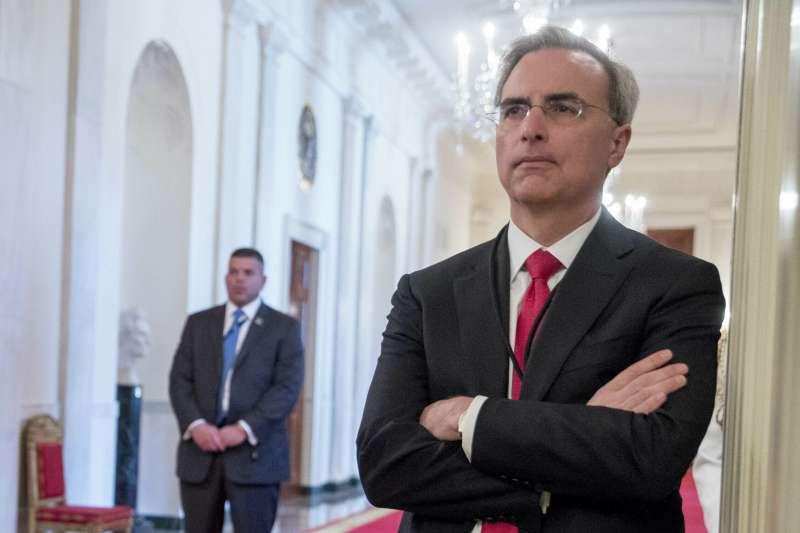 美國總統川普白宮法律顧問西波隆(Pat Cipollone)(AP)
