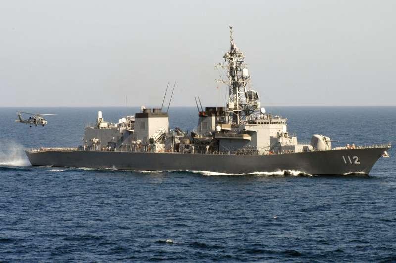 日本海上自衛隊的「高波號」護衛艦。(維基百科/公用領域)