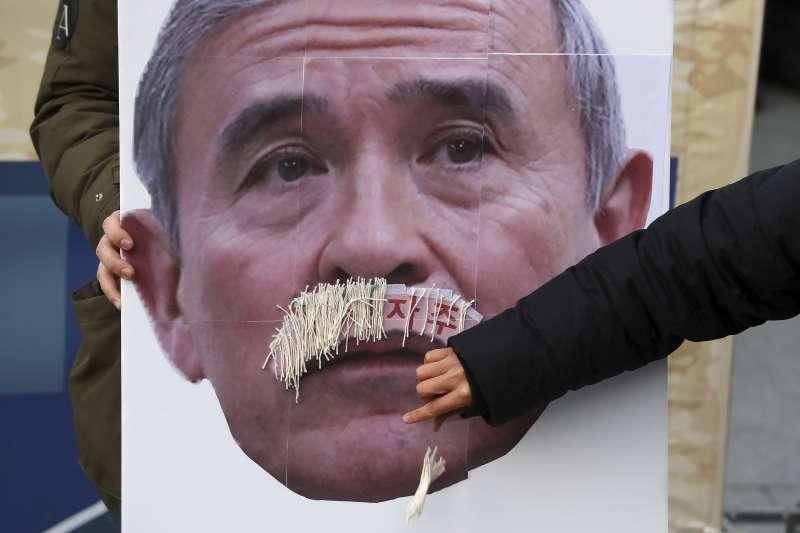 美國駐南韓大使哈里斯(Harry Harris)的鬍子引發南韓社會熱議(AP)