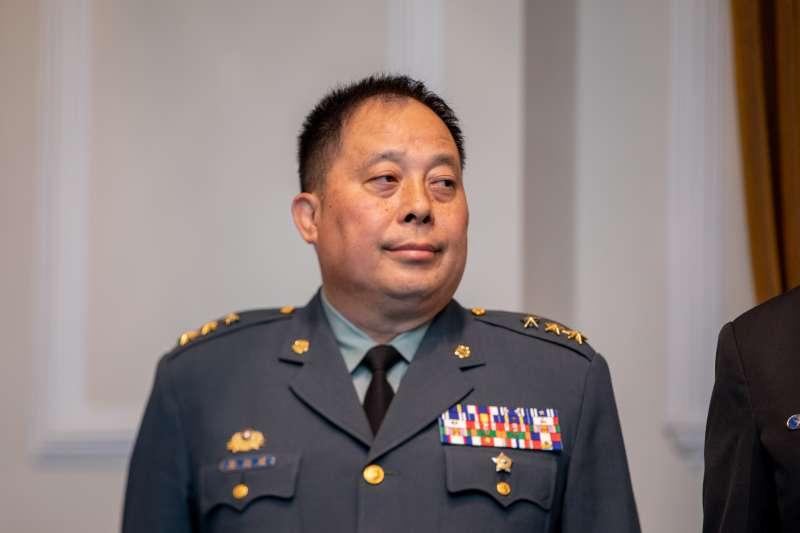 副總長執行官由徐衍璞中將(見圖)調任,並晉升上將。(取自總統府)