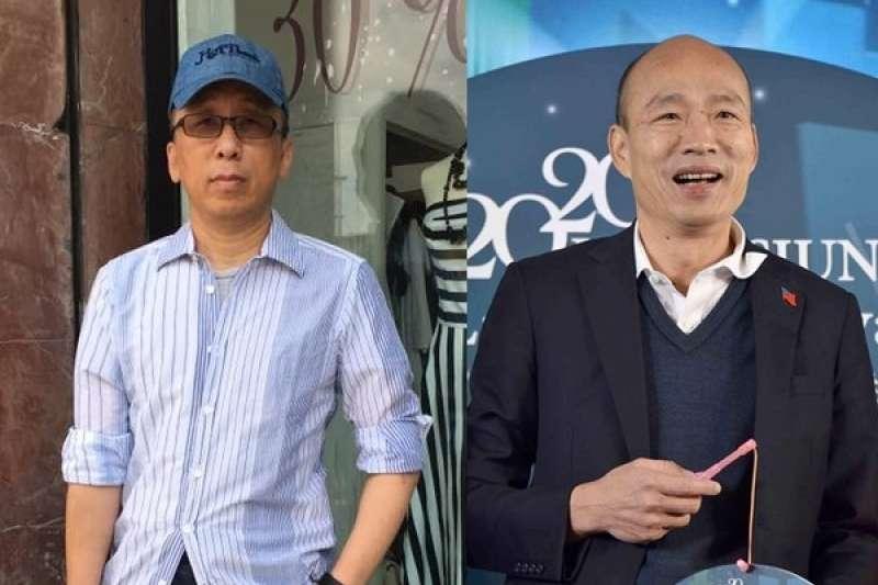 作家苦苓指出韓市長仼內增加1200億債務。(圖/翻攝苦苓臉書)