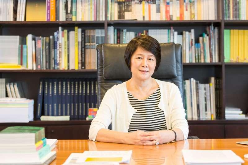 財團法人國家文化藝術基金會20日選出新任董事長,由第8屆董事長林曼麗(見圖)連任。(國藝會提供)