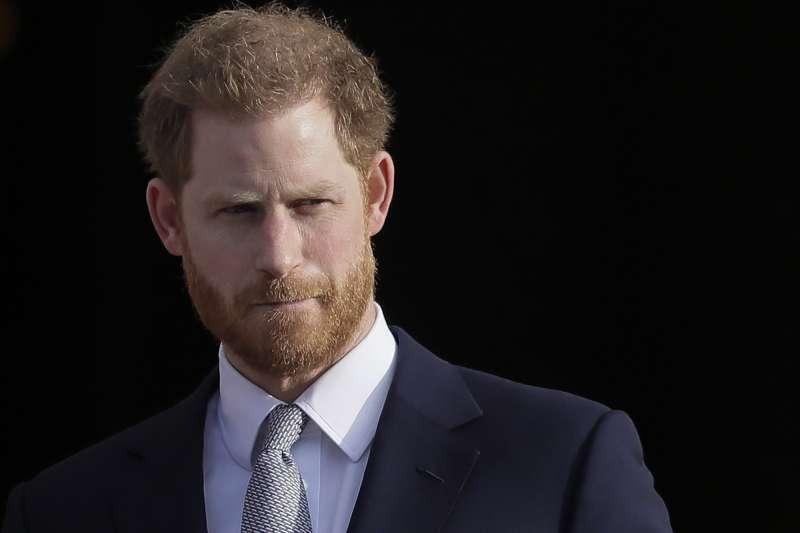 英國哈利王子(AP)