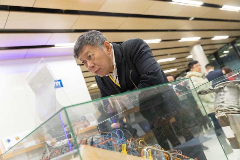 台北市長、台灣民眾黨主席柯文哲近日出訪歐洲。(台北市政府提供)