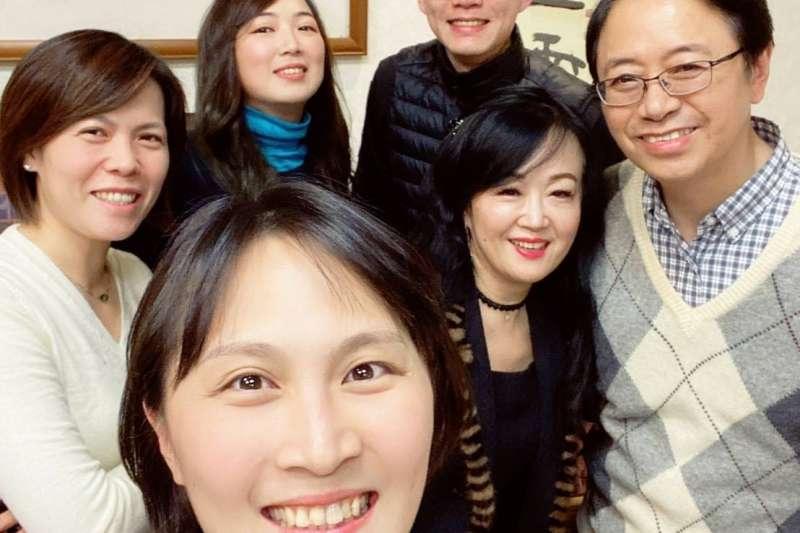 國民黨副總統候選人張善政的太太張琦雅書寫短文,表達對隨扈的感謝。(取自張善政臉書)