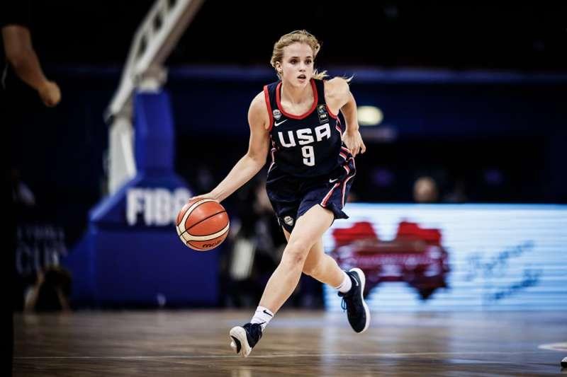 海莉是美國U17、U18、U19、U18 3x3金牌成員。(取自FIBA)
