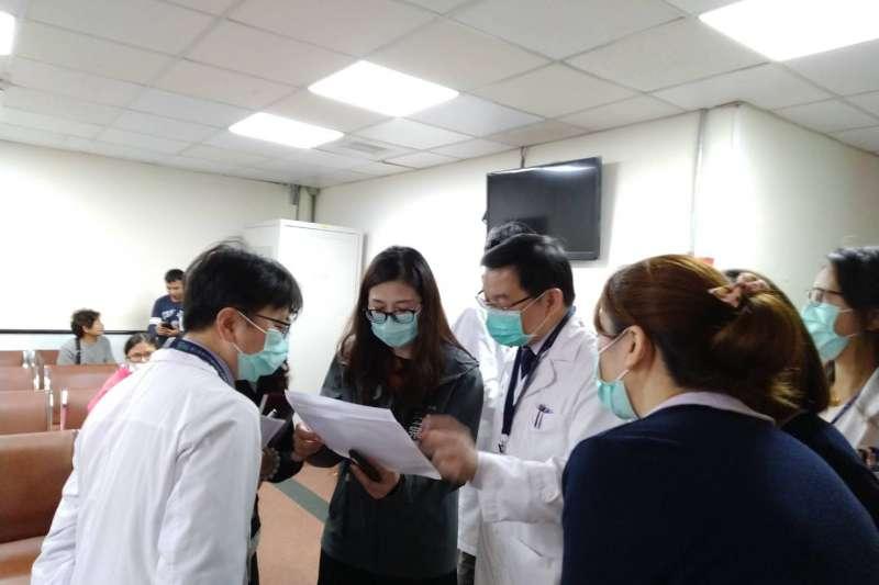 新竹市衛生局21日證實新竹馬偕醫院出現一名疑似感染武漢肺炎病例,已第一時間通報並隔離。(新竹市衛生局提供)