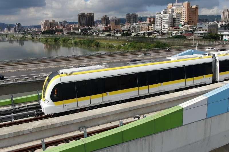 新北環狀線將於1月31日舉辦通車典禮,並規劃一個月的免費營運期,3月1日開始正式收費。(圖/新北市捷運局提供)