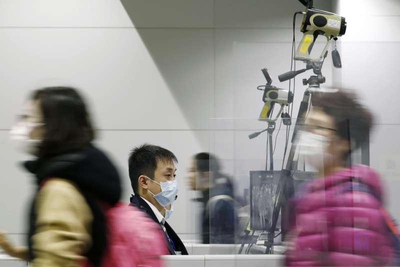 中國武漢肺炎疫情擴散,全球擔憂爆發大流行(AP)