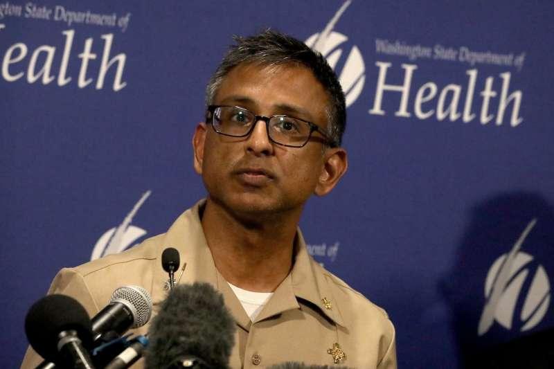 2020年1月21日,武漢肺炎(嚴重特殊傳染性肺炎,新型冠狀病毒肺炎)入侵美國,美國聯邦政府疾病管制署(CDC)官員出面說明(AP)