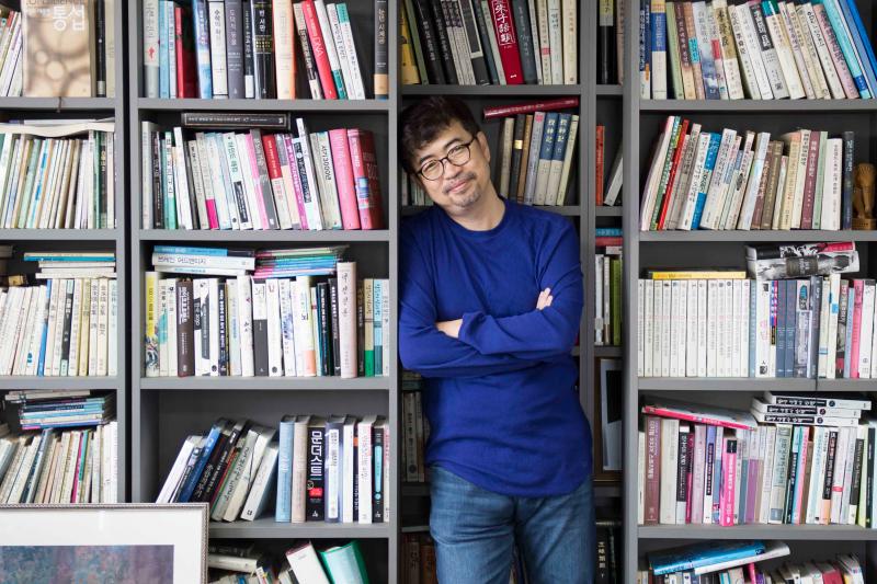 南韓作家金琸桓(時報出版提供)