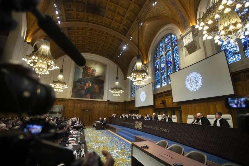 國際法院法官開庭審理羅興亞種族清洗案(AP)