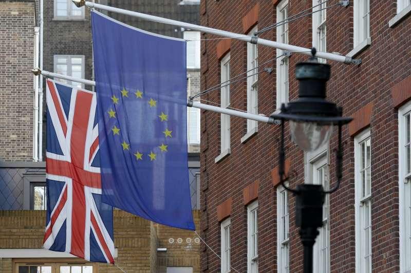 英國脫歐倒數計時(AP)